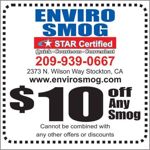 $31.75 Smog Check with Smog Coupon